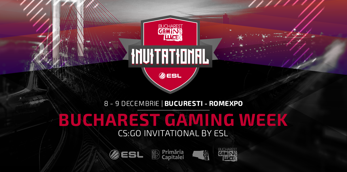 Photo of Premii de 50.000 Euro: Bucharest Gaming Week Invitational by ESL aduce în arenă echipe de CS:GO de renume internațional