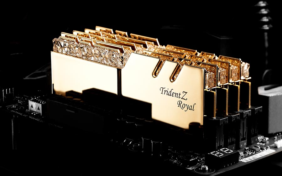 Photo of TridentZ Royal, kit de memorie RAM cu iz regal de la G.Skill