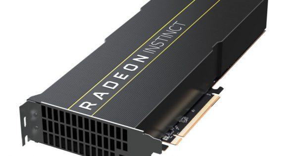 AMD anunță noile plăci Radeon Instinct MI60 și MI50