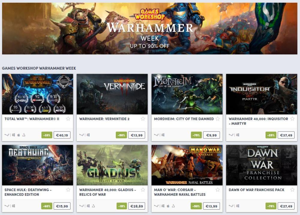 Photo of Seria Warhammer este în această săptămână la reducere pe Humble Bundle