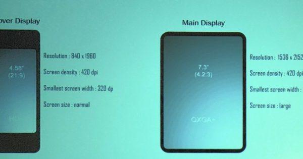 Zvon Samsung Galaxy F specs
