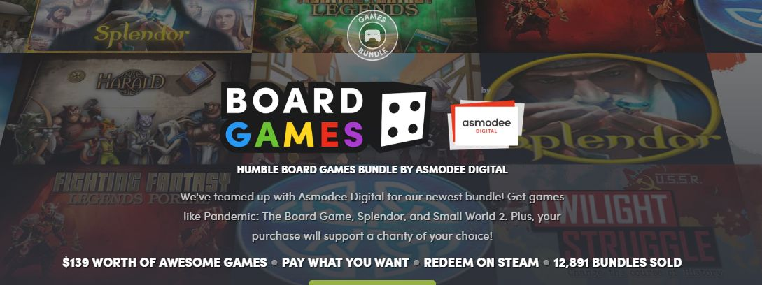 Photo of Humble Board Game Bundle!