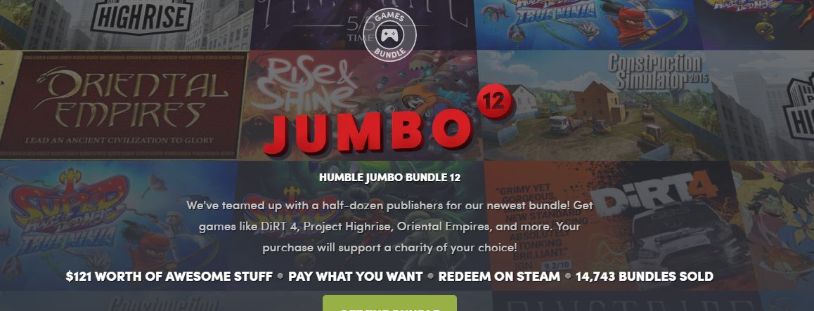 Photo of Humble Jumbo Bundle 12