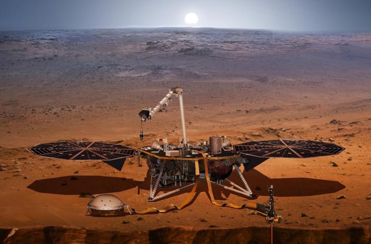 Photo of O nouă sondă NASA aterizează în această seară pe planeta Marte