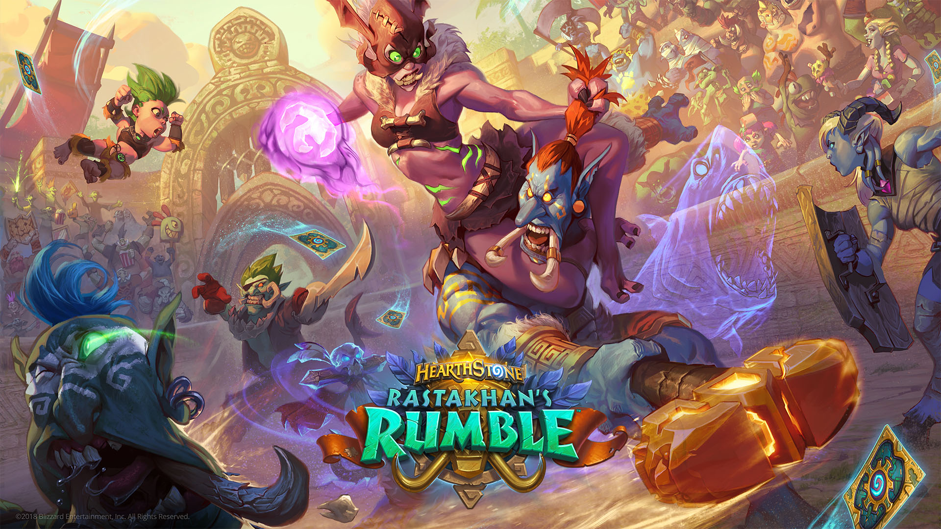 Photo of Noua expansiune din Hearthstone este Rastakhan's Rumble