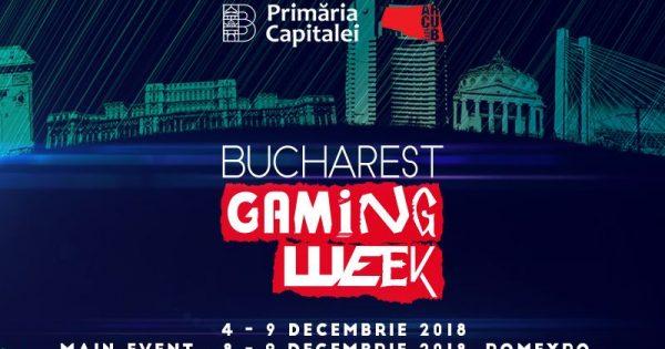 Bucharest Gaming Week dă startul celei de-a doua ediții a săptămânii dedicate industriei de gaming din România