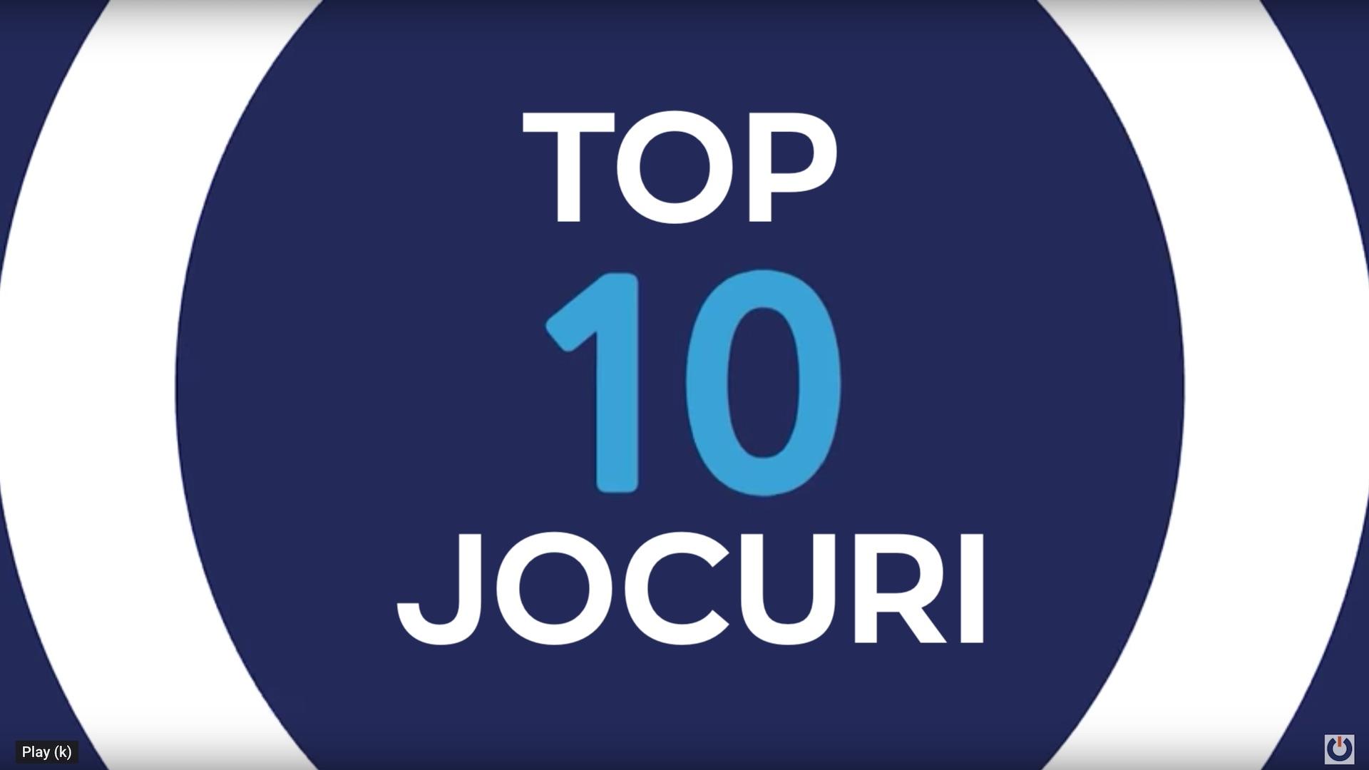 Top 10 Jocurile Anului 2018
