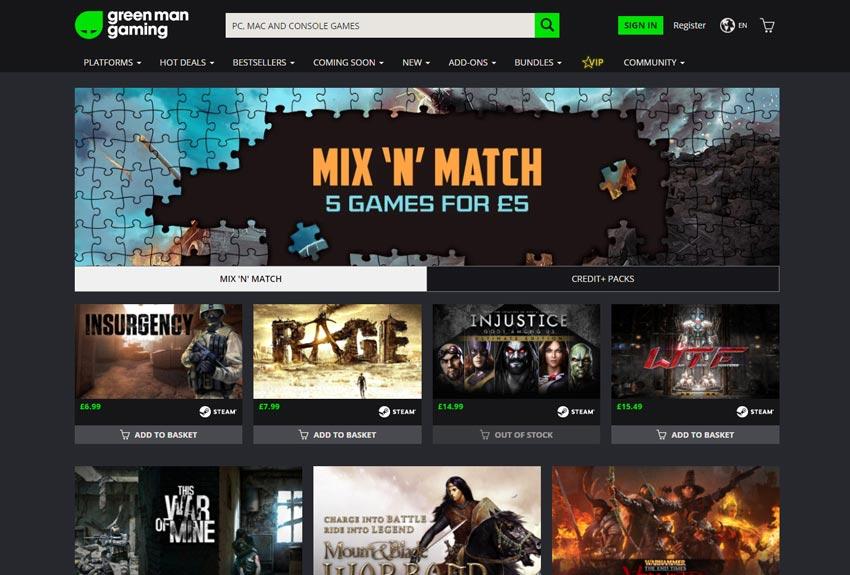 Photo of Green Man Gaming vă propune să creați propriul bundle de jocuri