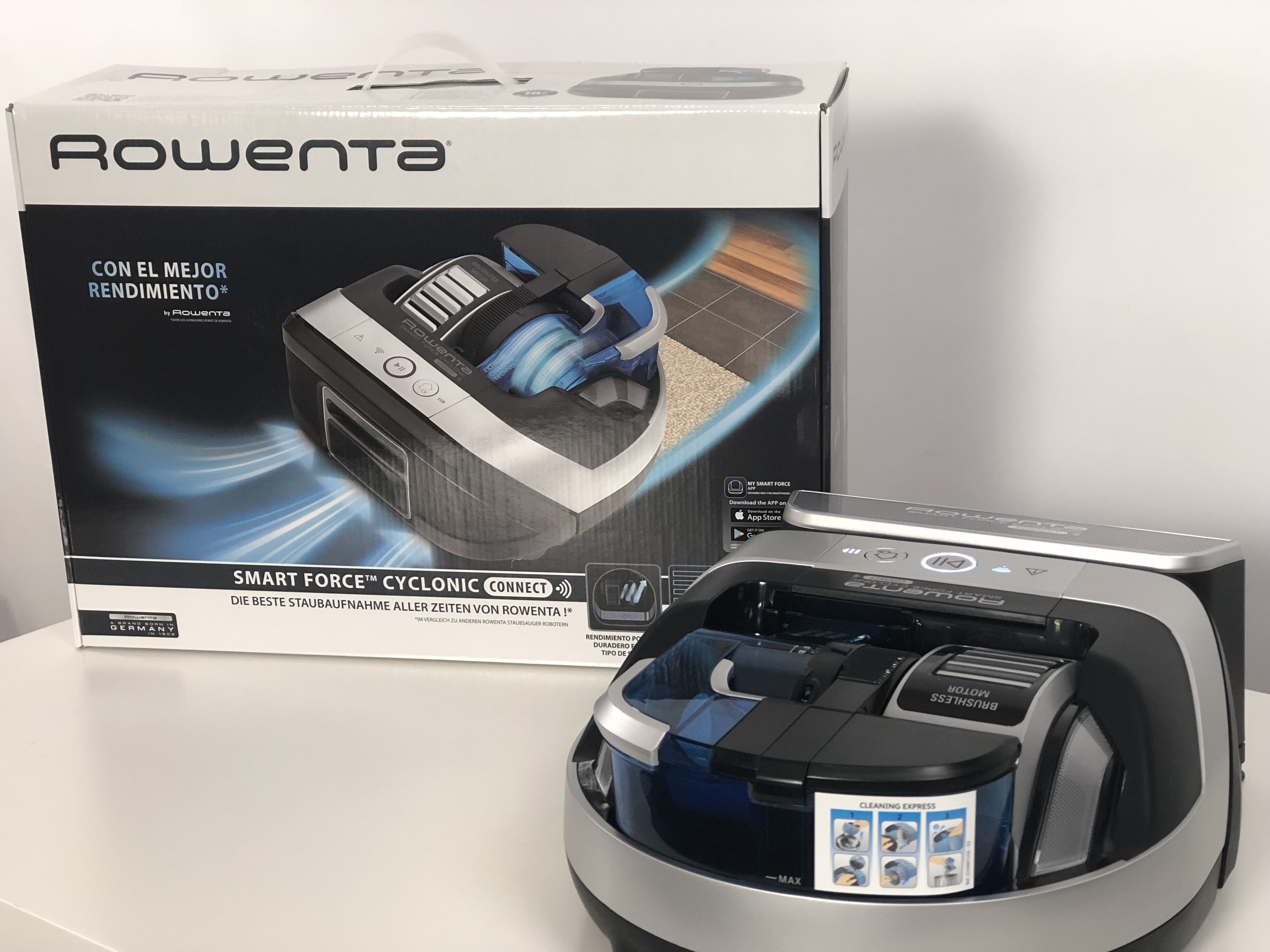 Rowenta Smart Force Cyclonic Connect
