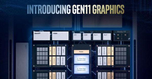 Seria Intel Gen11 aduce îmbunătățiri de performanță grafică mari