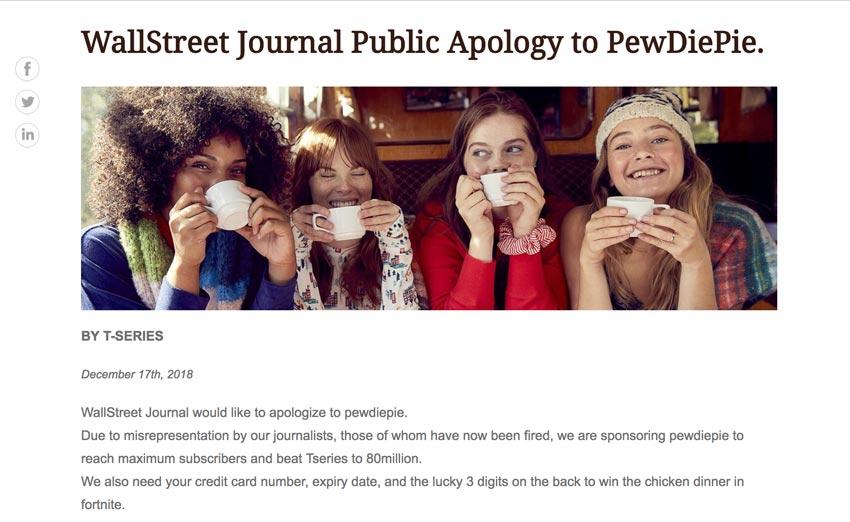Wall Street Journal hacked