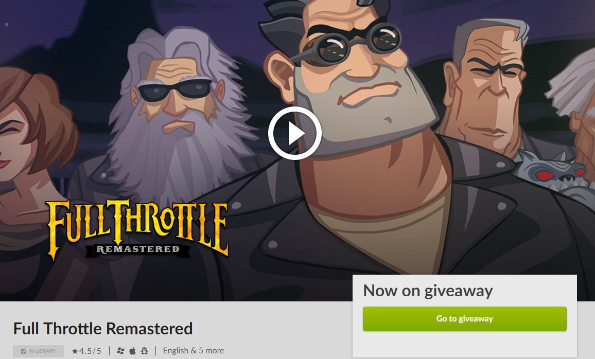 full throttle gog