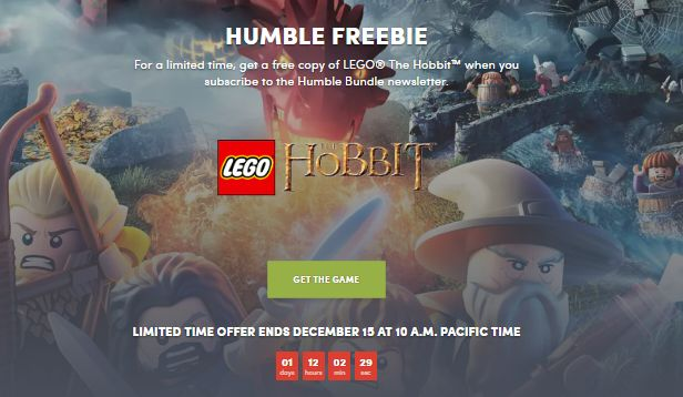 lego the hobbit free