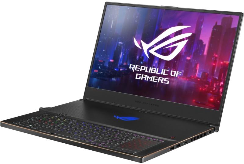 ROG Zephyrus S GX701GX: o bijuterie de laptop, și la propriu, și la figurat.