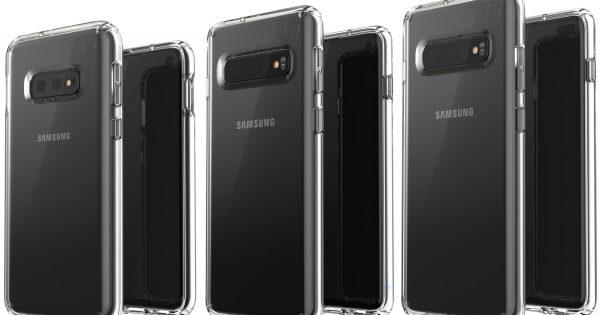 Așa arată noile telefoane Samsung Galaxy S10