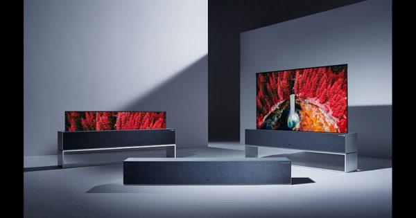 LG signature OLED TV R televizor rulat