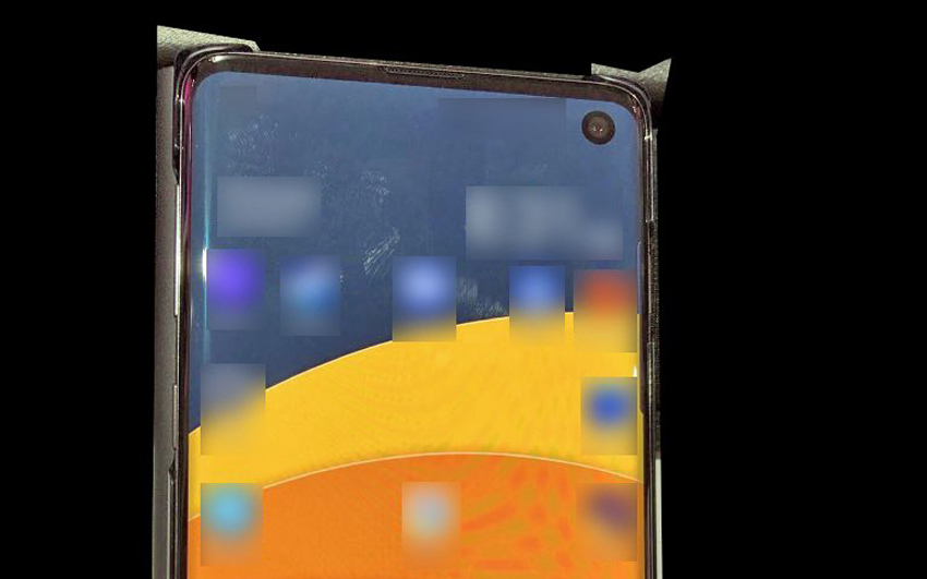 Samsung Galaxy S10 leak