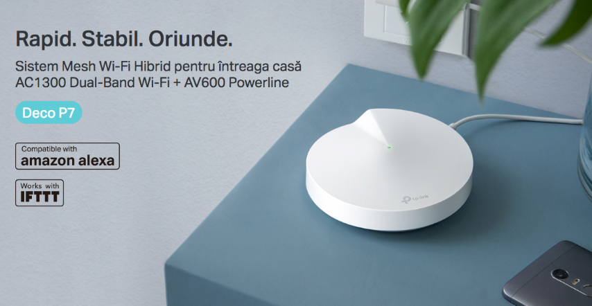 TP-Link extends the range of network systems with the new Deco P7