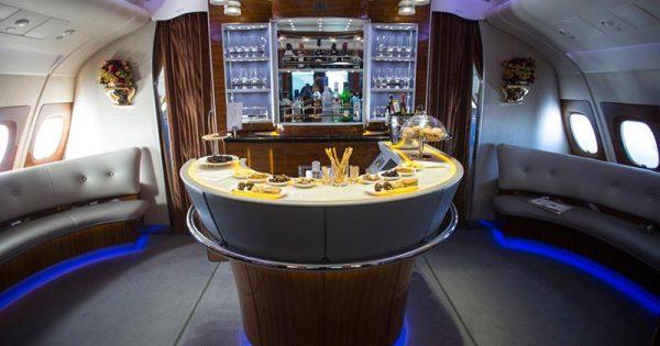 Airbus A380 bar