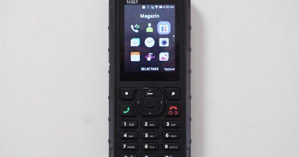 CAT B35 Review – Un telefon simplu si cinstit, nu tocmai smart, dar tare ca fierul!