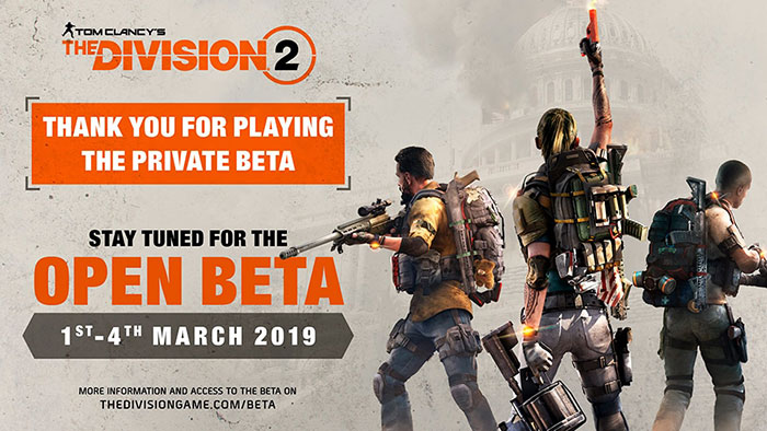 Photo of The Division 2 intră în Open Beta luna viitoare