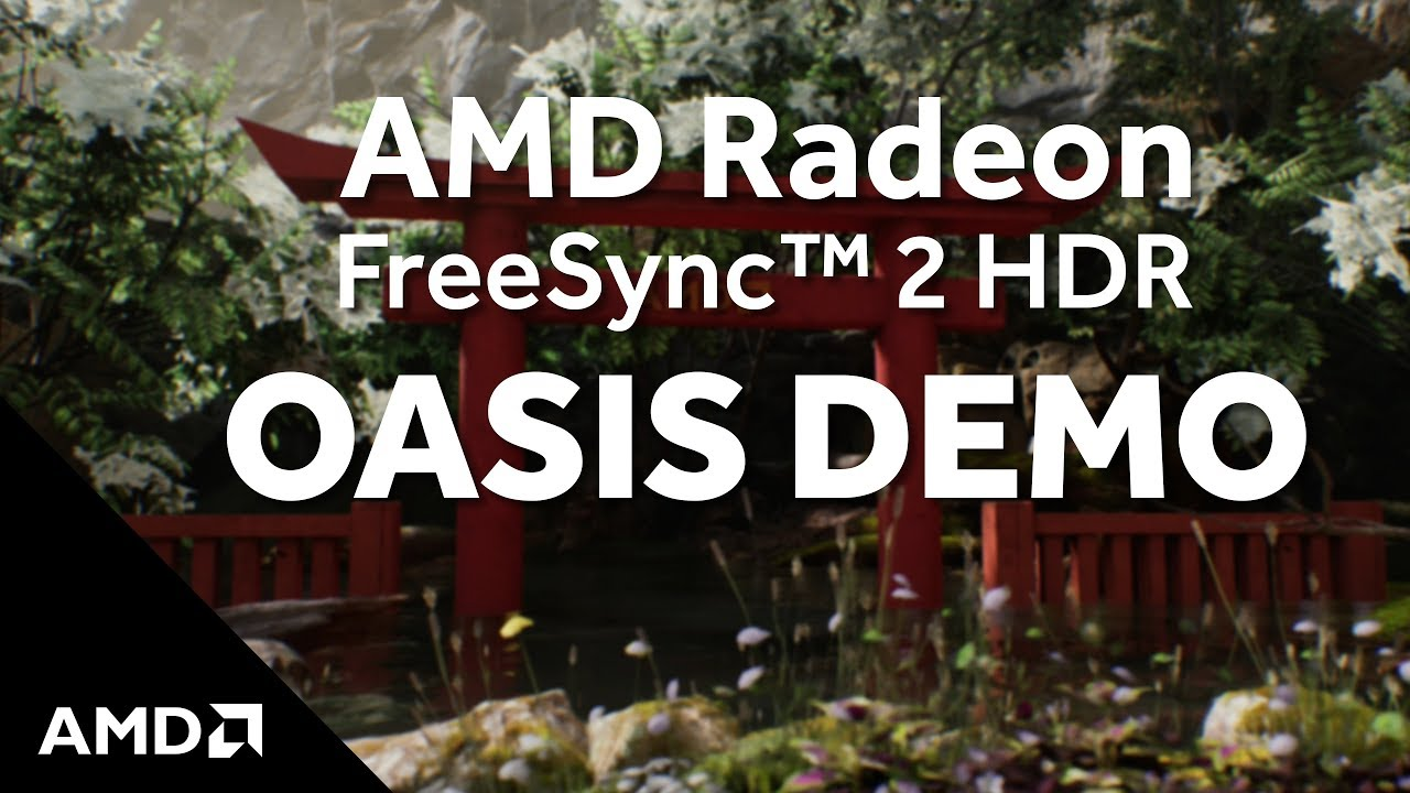 amd oasis demo freesync 2
