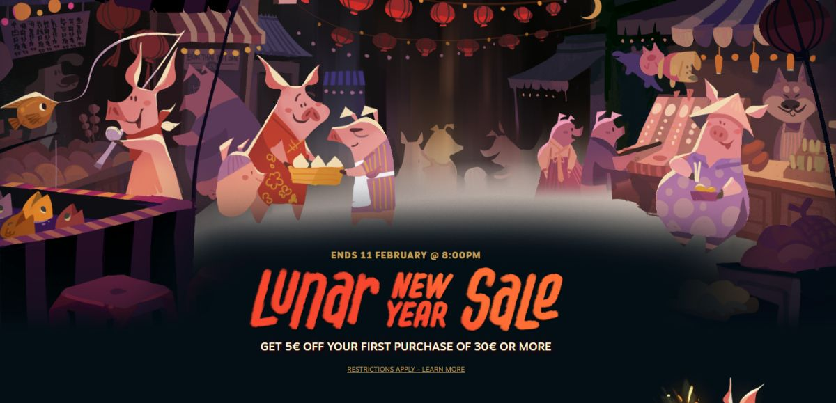 Photo of Steam Lunar Sale a început!