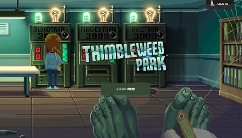 Photo of Thimbleweed Park este acum gratuit pe Epic Games Store