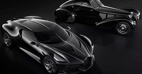 Bugatti La Voiture Noire si Type 57SC Atlantic