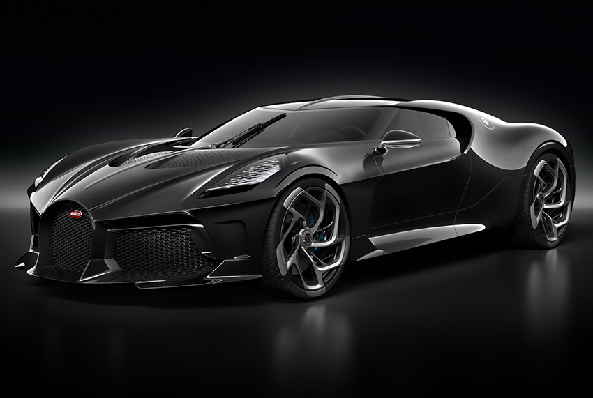 Photo of Bugatti La Voiture Noire, un nou reper în eleganța auto