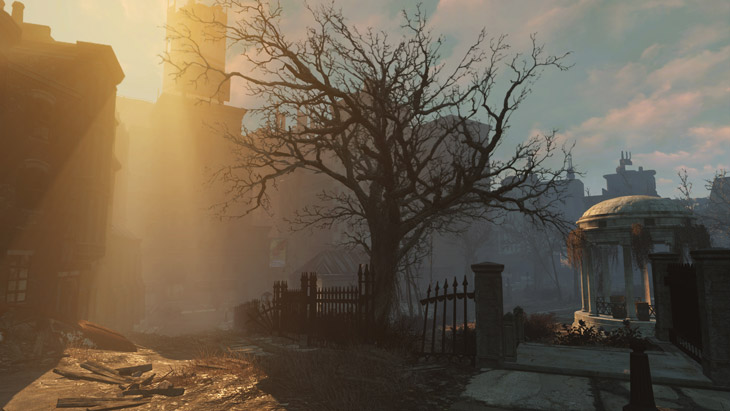 Volumetric Lighting în Fallout 4