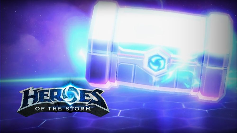 Heroes of the Storm lootboxes