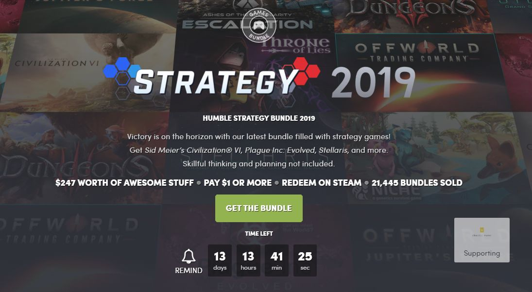 Photo of Humble Strategy Bundle 2019