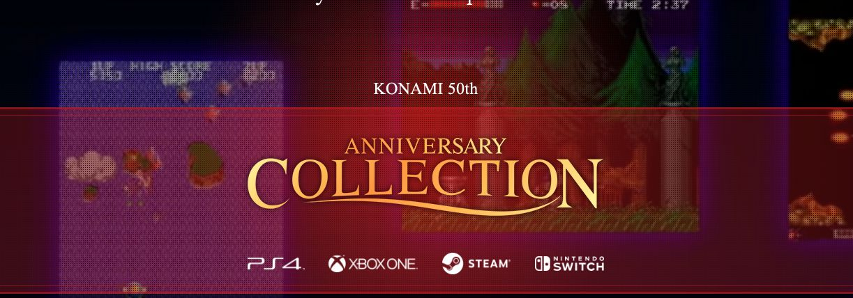 Photo of Konami anunță o colecție aniversară cu jocurile sale clasice
