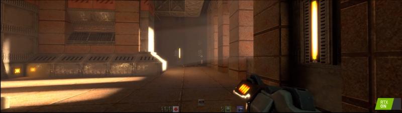 Și un pic cu de toate: Volumetric Lighting, reflexii reale pe zonele acoperite cu metal.