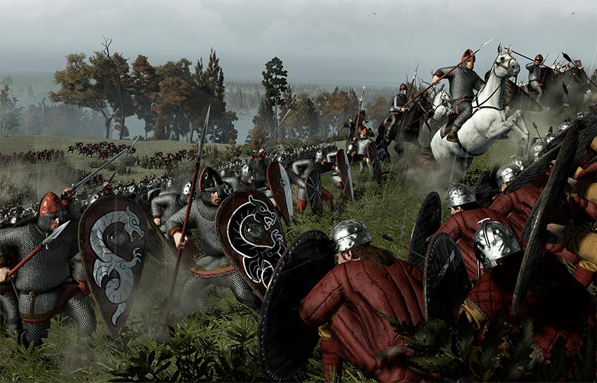 Total War gameplay