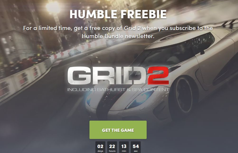 Photo of GRID 2 este gratuit pe Humble Bundle
