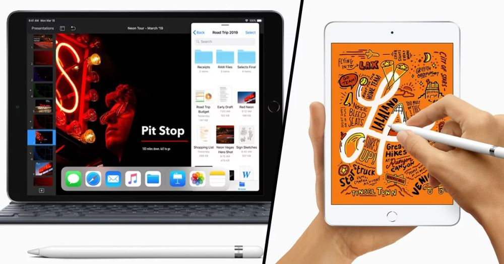 iPad Air iPad mini 2019