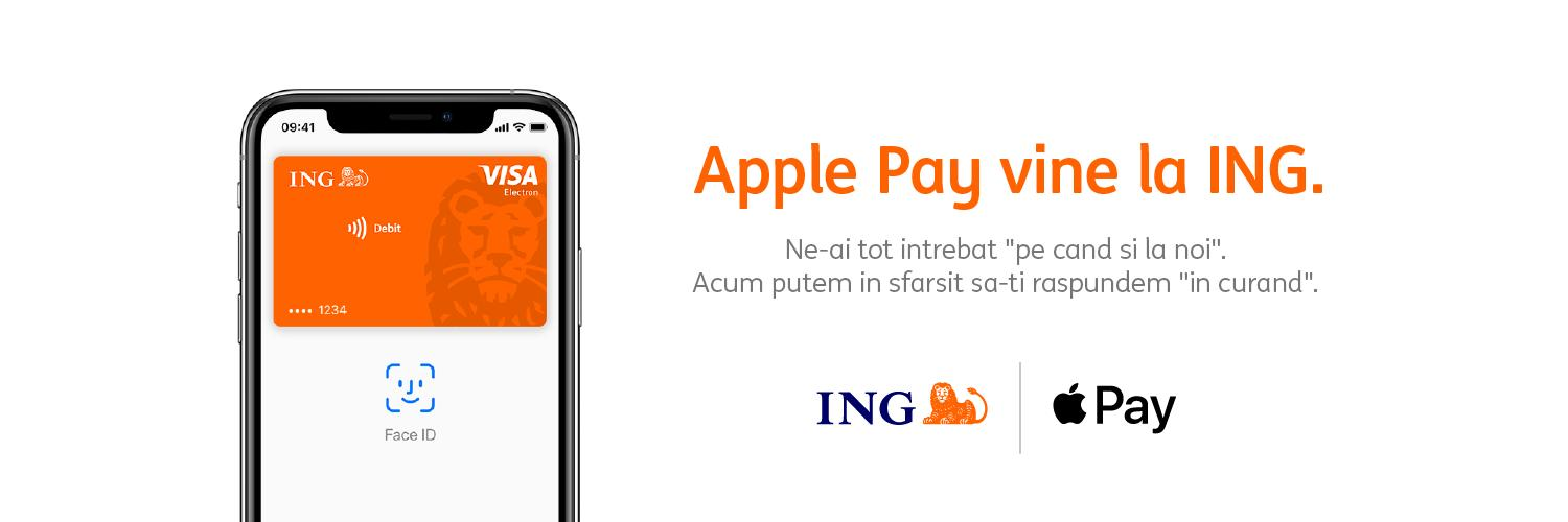 ing bank romania apple pay