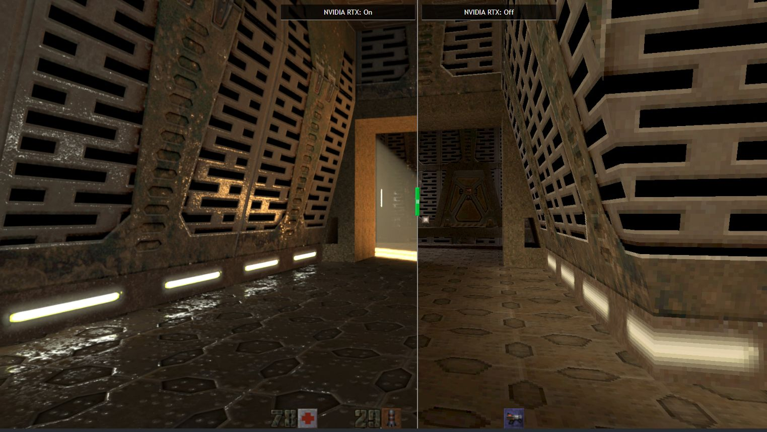 quake 2 rtx on off