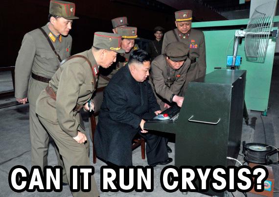 Can it Run Crysis este unul din cele mai cunoscute meme-uri după fenomenul Crysis, care a creat multă frustrare la momentul apariției, punând multe calculatoare la încercare.