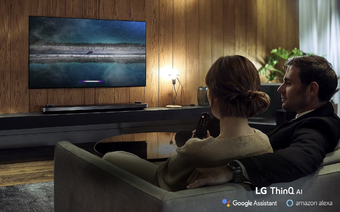 LG ThinQ AI TV Lifestyle