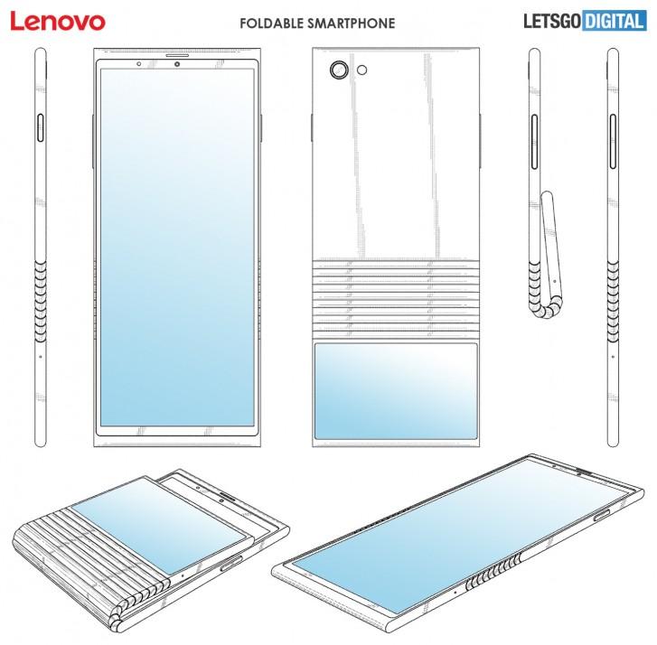 Photo of Lenovo brevetează un telefon pliabil