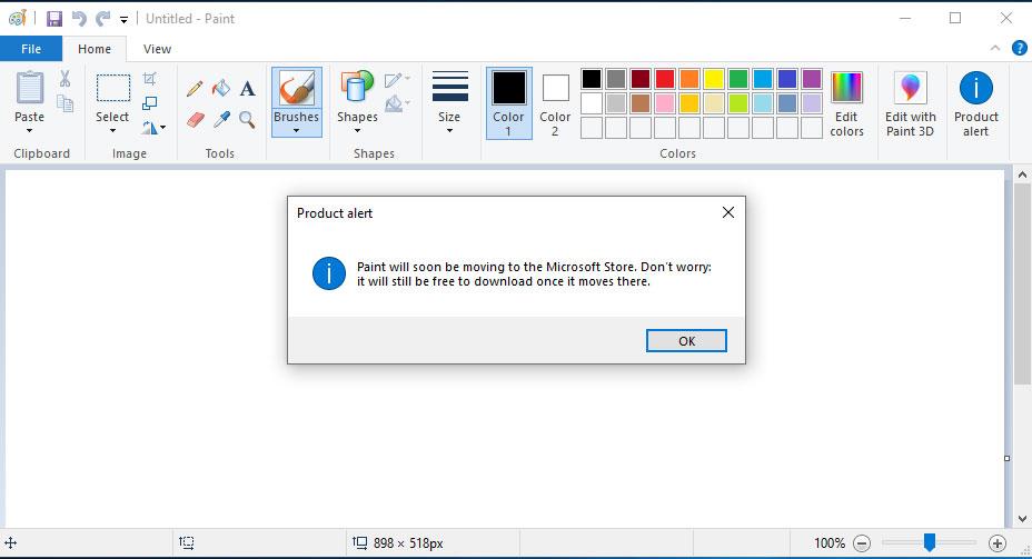 Paint Microsoft Store