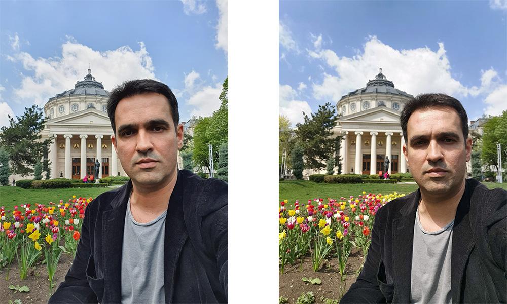 Samsung Galaxy S10 vs Huawei P30 Pro Selfie