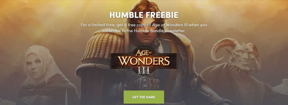 Age of Wonders 3 gratuit Humble Store