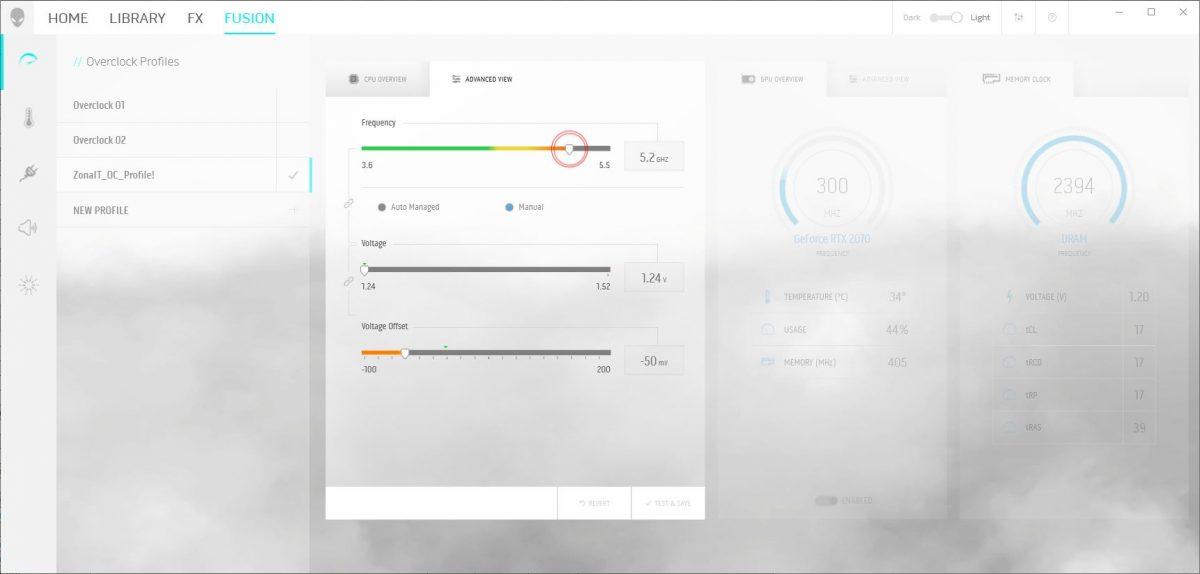 Monitorizare temperaturi, control viteză ventilatoare / profil silențiozitate, control complet frecvență procesor, placă video și memorii.
