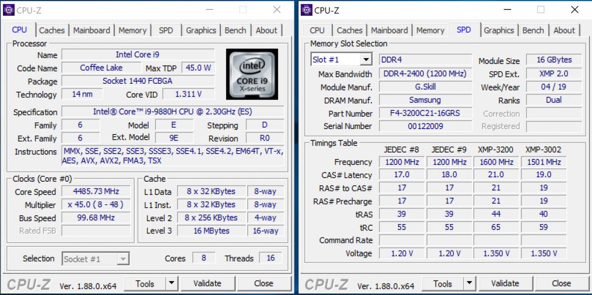 """Intel Core i9 9880H într-un șasiu de 15,6""""...incredibil unde s-a ajuns."""