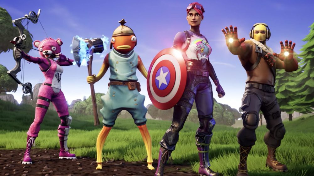 Fortnite Endgame Donald Trump Tencent