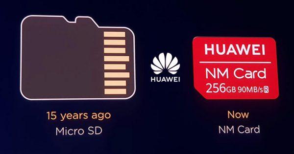 Huawei nu mai poate folosi carduri SD